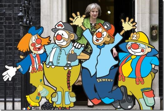 Theresa May announces new Cabinet