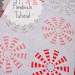 Peppermint Pinwheels quilt text