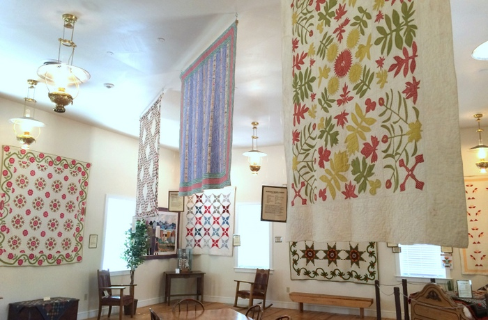 Antique Quilts THis is the Place Heritage Park