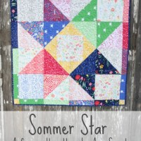 Sarah Jane's Sommer Fabric and Quilt Pattern
