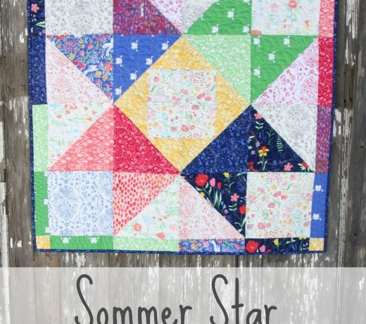 Sommer Free Star Quilt patten