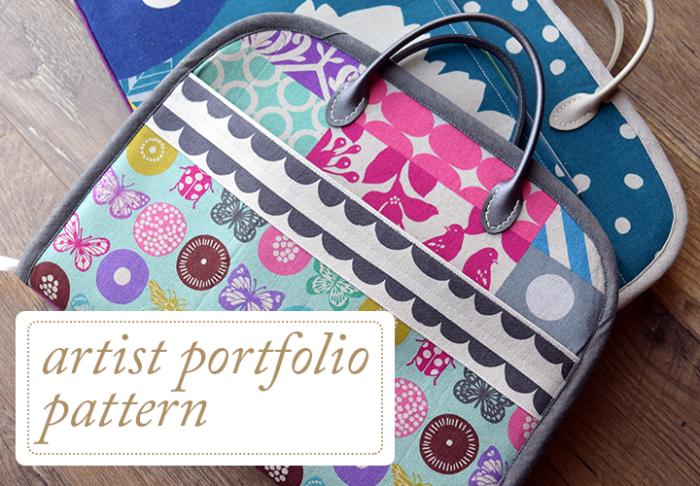 Artist-Portfolio-Pattern