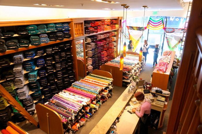 Britex Fabric entry