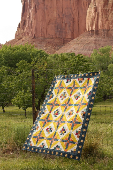 Watchtower Quilt Pattern Capitol Reef