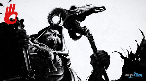 Cómo dibujar bien: League of Legends Karthus con la skin de Skeletor – Dibujar Bien.com