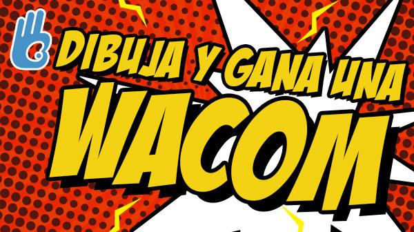 El mejor concurso de dibujo del mundo con Wacom!!!