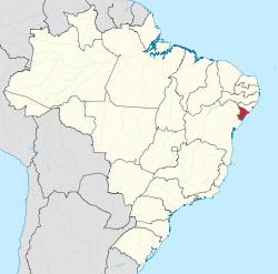 Sergipe - menor Estado do Brasil