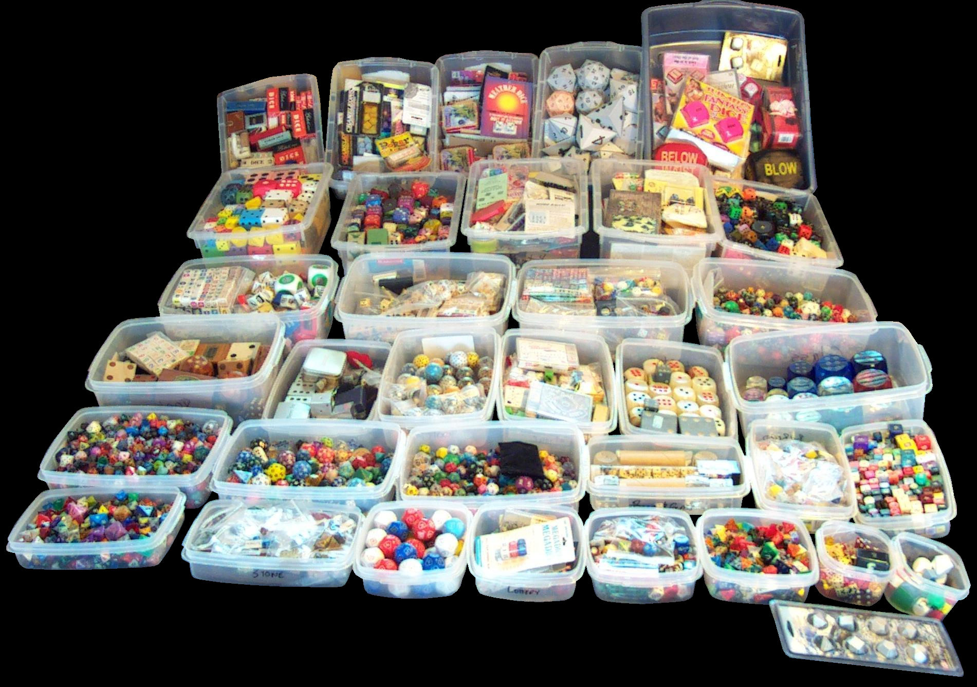 Dicecollectorcom39s How The Collection Is Housed