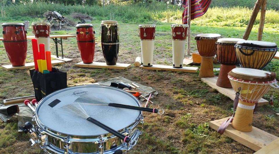 Fun Drum Percussion Workshop in München