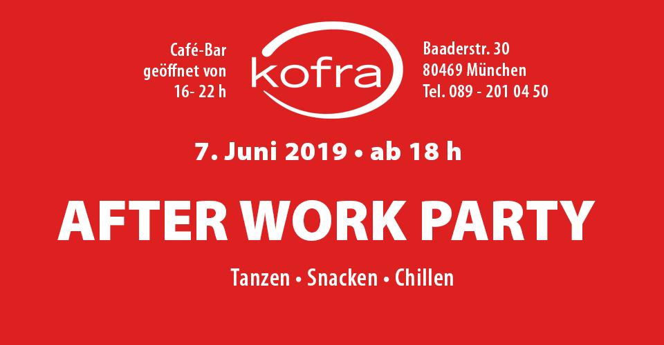 After Work Party im Kofra, München