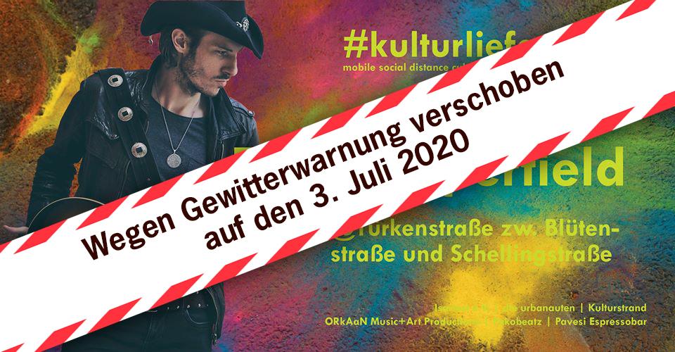 Kulturlieferdienst - Neuer termin - 3.7.2020 - 18-19 Uhr. TG Copperfield Espressobar Pavesi - Türkenstr. 67
