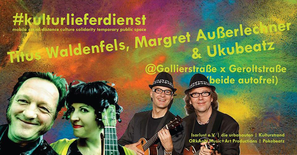 Kulturlieferdienst 5.6.2020 Titus Waldenfels - Margreth Ausserlechner - Ukubeats