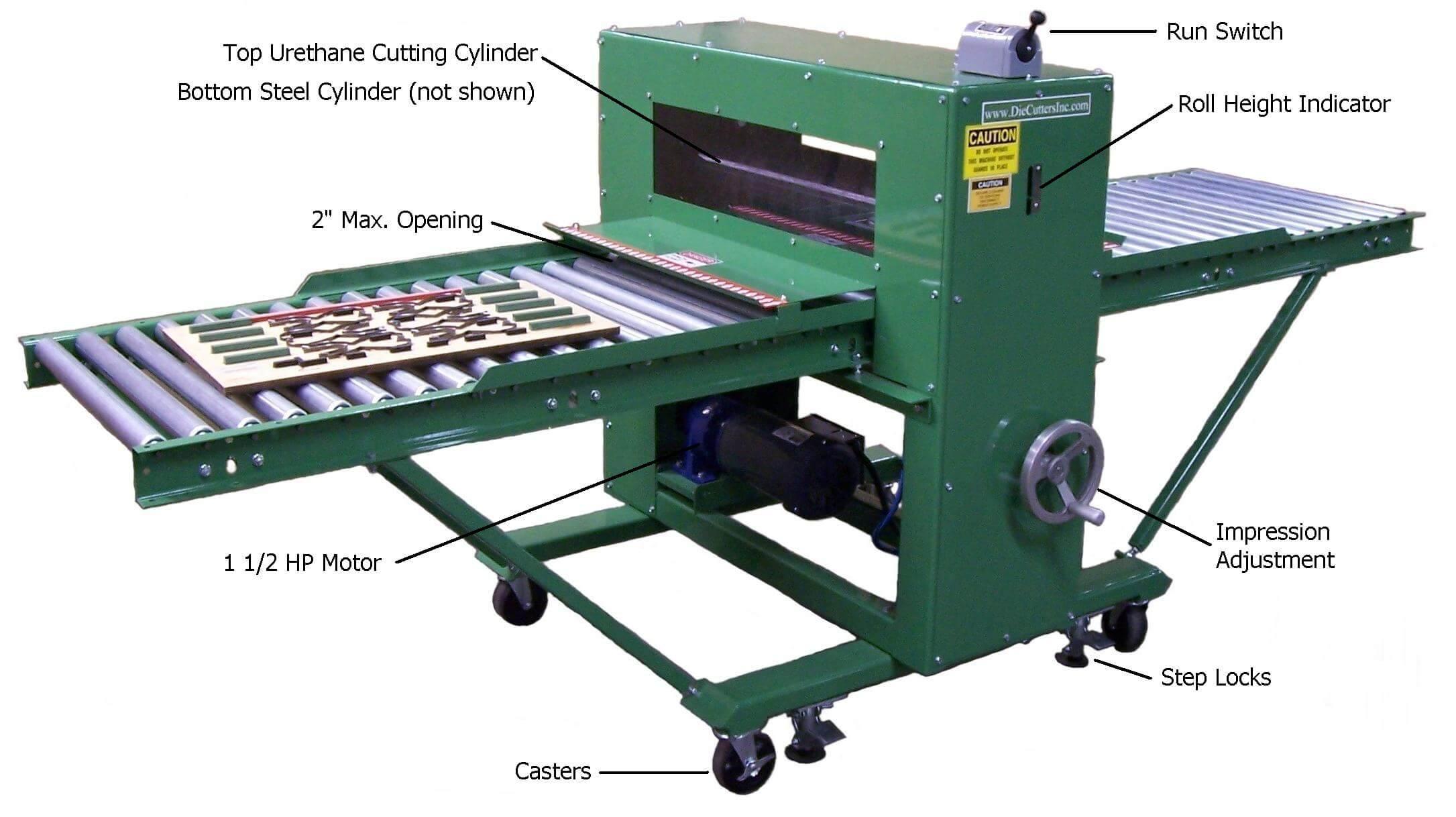 Die Cutters Inc Cleen Cut 30 Inch Die Cutter Product