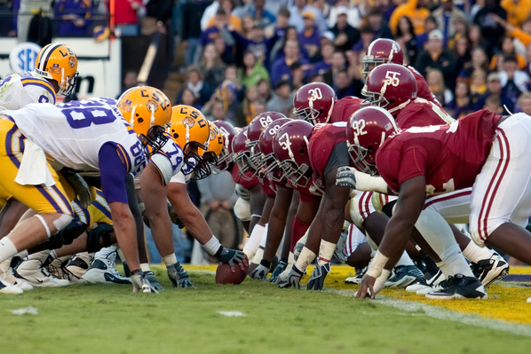 NCAA FOOTBALL: NOV 06 Alabama at LSU