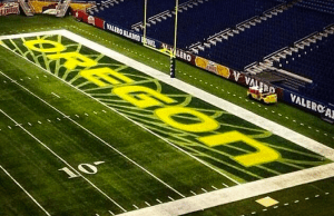 Alamo Bowl End Zone