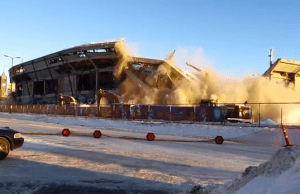 Metrodome Demolition