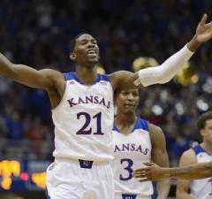 Kansas Joel Embiid out NCAA Tournament