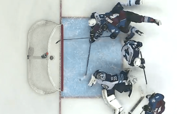 Enstrom Diving Save