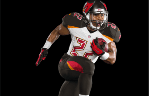 Tampa Bay Bucs new uniforms