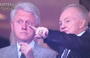 Bill Clinton Jerry Jones