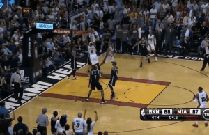Mason Plumlee Rejects LeBron James