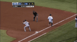 Yankees turn triple play vs. Rays
