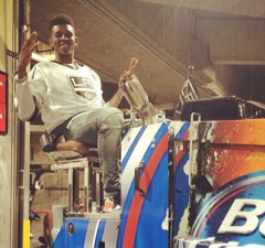 Swaggy P Zamboni LA Kings