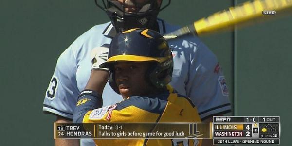 little league talk to girls
