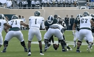 Eastern Michigan play MSU