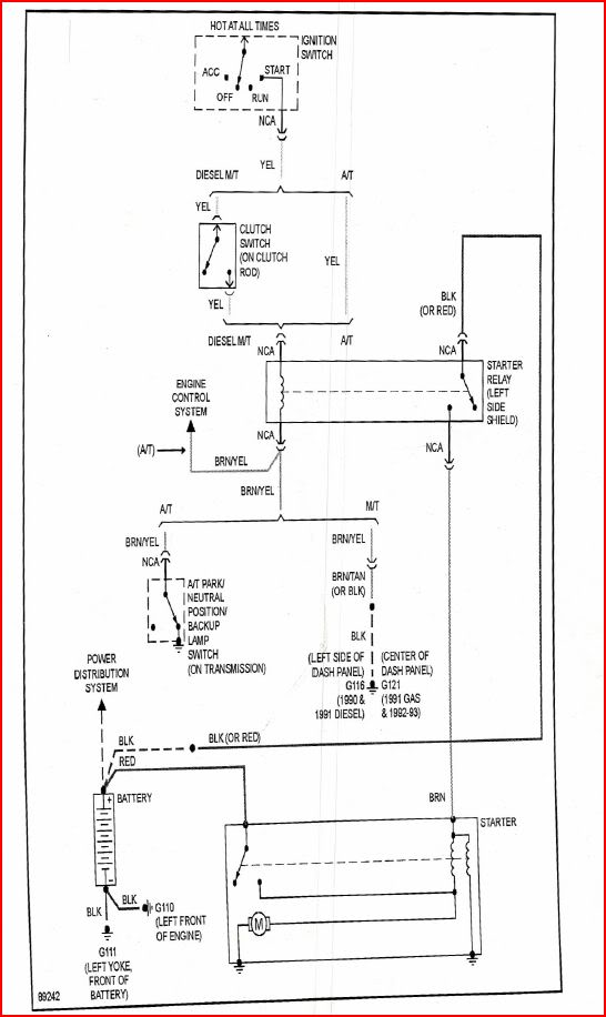 88 chevy wiring diagram