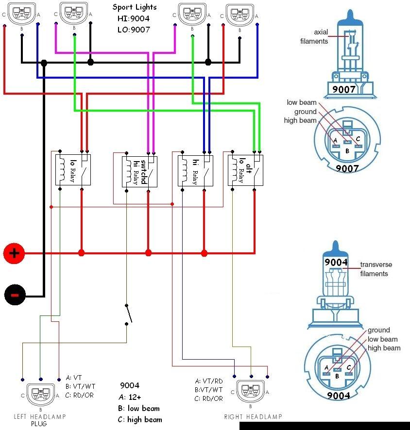 2004 dodge ram 1500 headlight wiring diagram