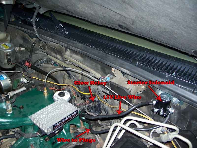 Duramax Glow Plug Controller Wiring Electronic Schematics collections