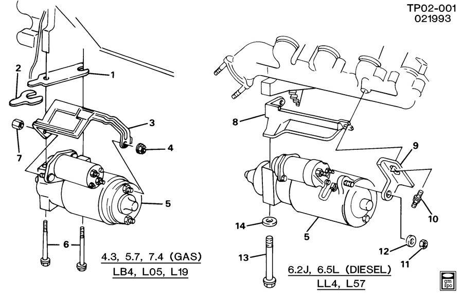 6.5 diesel starter wiring diagram
