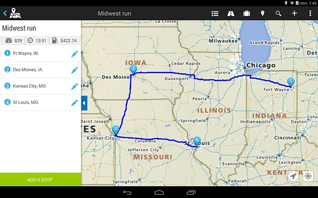 Rand McNally TND Truckers Tablet 70 and 80 specs, sale, and review - trip maker software