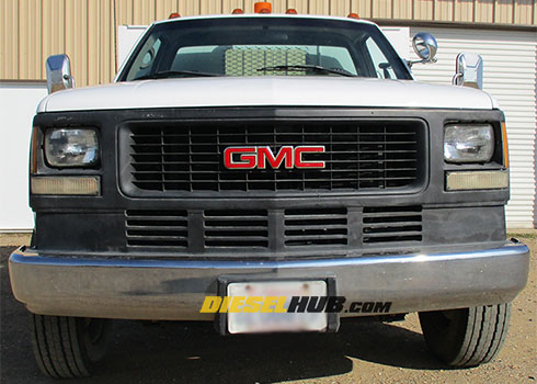 1991 Gmc 3500 Chassis Wiring Schematic Diagram
