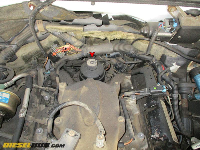 fuel filter housing duramax van