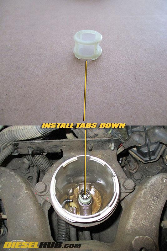 65L GM Diesel Fuel Filter Replacement Procedures