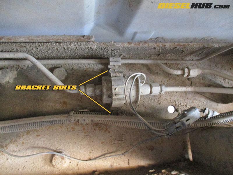65L GM Diesel Fuel Pump (Lift Pump) Replacement Procedures