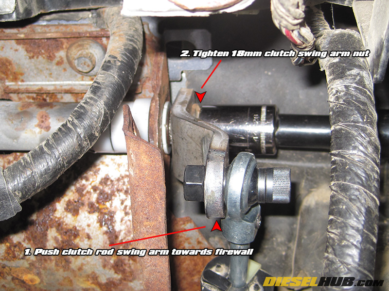 1992-1997 F-Series Clutch Pedal Bushing Replacement