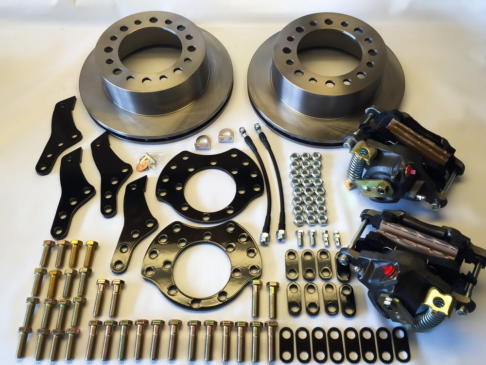 Rear Disc Brake Conversion Kits From EGR Brakes Diesel Tech Magazine