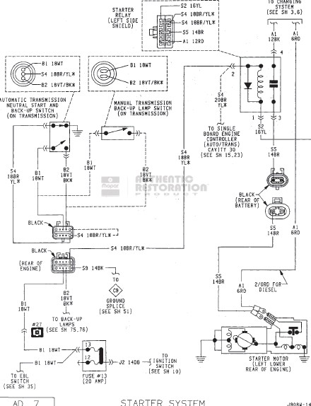 Dodge Alternator Wiring Control Cables  Wiring Diagram