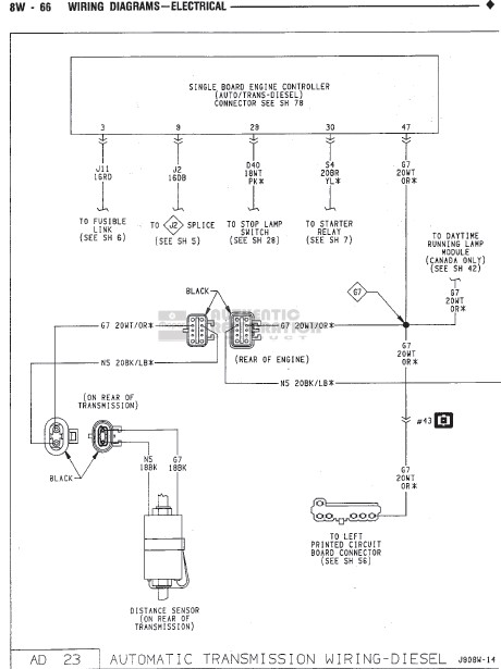 1990 dodge diesel wiring diagram