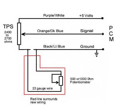 Installing a Potentiometer in place of the TPS - Page 7 - Dodge