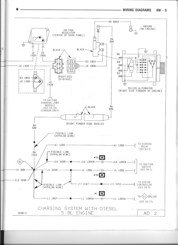 Alternator wiring - Dodge Diesel - Diesel Truck Resource Forums