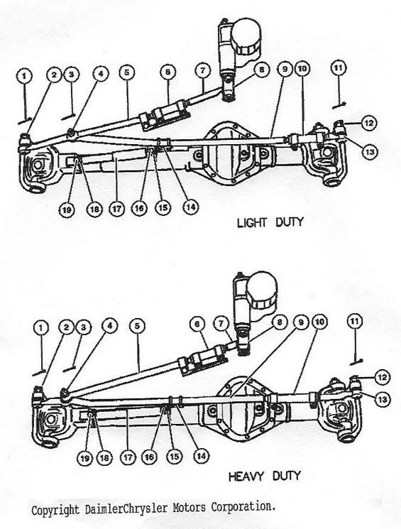 dodge 3500 suspension diagram