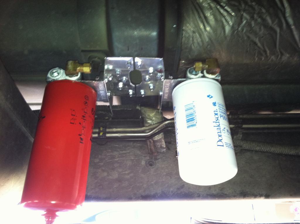 Simple in-line fuel filter/water separator - Dodge Diesel - Diesel