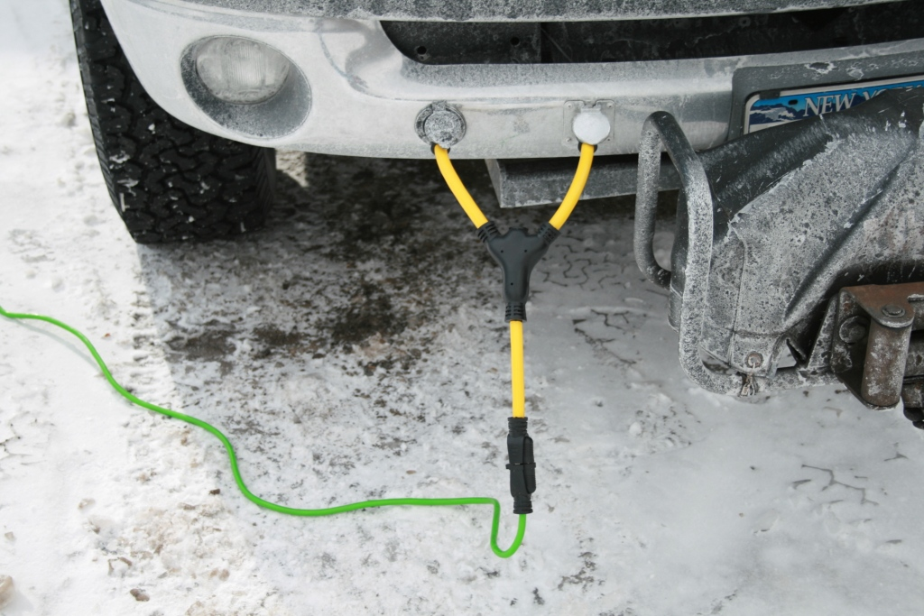 where to find block heater cord