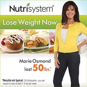 Marie Osmond Nutrisystem Spokesperson