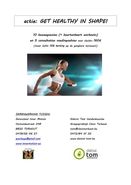 actie: get healthy in shape