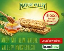Brandnooz sucht – bis 19.07. – 2000 Produkttester für Nature Valley Knusperriegel!